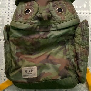 Kid's Camo Owl Backpack
